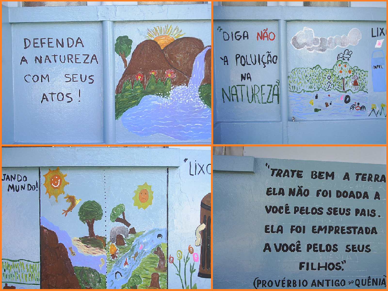 A Terra Pede Socorro Catalano Na Educação